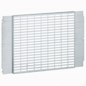 Perforated universal plate - for XL³ 800/4000 - width 600 mm - h 400 mm