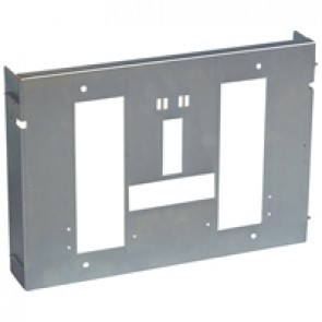 Adjustable plate XL³ 4000 - for 1 DPX 1600 draw-out - horizontal