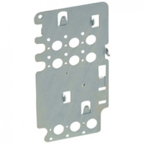 Mounting plates XL³ 4000 for 1 DPX³ 250 - vertical