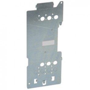 Mounting plates XL³ 4000 for 1 plug-in DPX³ 160 - vertical