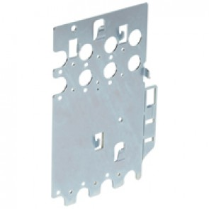Mounting plates XL³ 4000 for 1 DPX³ 160 - vertical