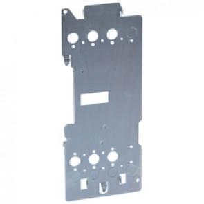 Mounting plates XL³ 4000 for 1 plug-in DPX³ 250 - vertical