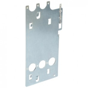 Mounting plate XL³ 4000 - for DPX 630 fixed - vertical