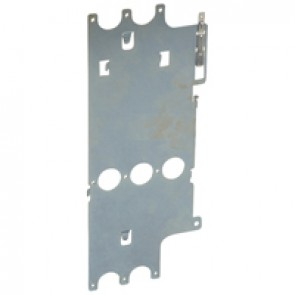 Mounting plate XL³ 4000 - for DPX 630 fixed + elcb - vertical