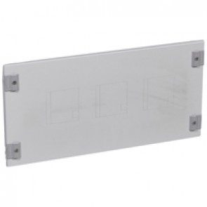 Metal faceplate XL³ 800/4000 - DPX³ with direct rotary handle- 1/4 turn - 24 modules
