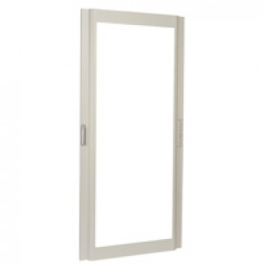Reversible curved glass door XL³ 4000 - width 975 mm - Height 2200 mm