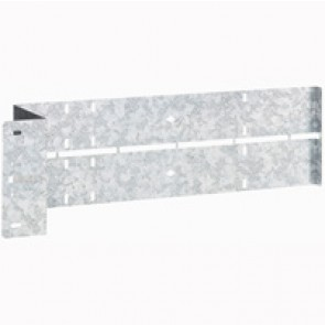 Rear partitioning divider for space compartment for XL³ 4000/6300