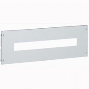Metal faceplate XL³ 800/4000 - for Vistop 160 - captive screws - 24 modules