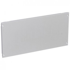 Metal faceplate XL³ 800/4000 - DPX³ with direct rotary handle - screws - 24 modules