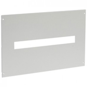 Metal faceplate XL³ 800/4000 - DPX³ 250 with terminal shields - captive screws