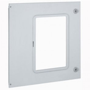 Metal faceplate XL³ 4000 - 1 DMX³ 2500/4000 3P/1 DMX³ 2500 4P/ DMX³-I2500-W=600