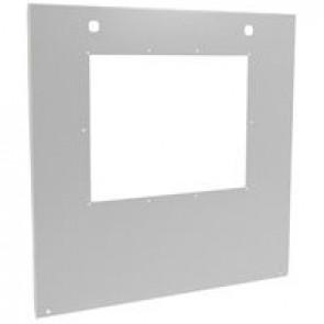 Metal faceplate XL³ 4000 - 1 DMX³ 2500 4P/1 DMX³ 4000 4P/ 1 DMX³-I4000-W=600