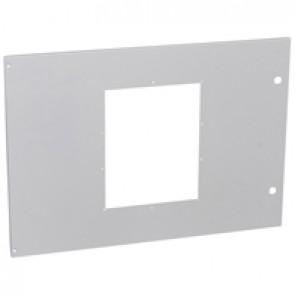 Metal faceplate XL³ 4000 - 1 DMX³ 2500/4000 3P/4P / 1 DMX³-I2500/4000-W=850