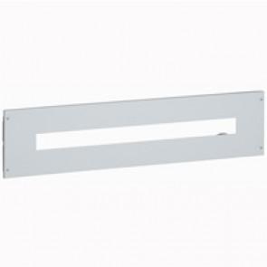 Metal faceplate XL³ 800/4000 - for Vistop 160 - captive screws - 36 modules