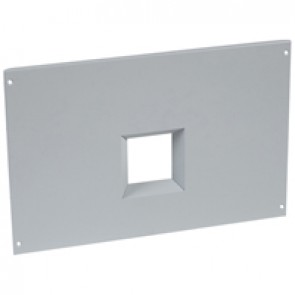 Metal faceplate for automatic transfer switch in XL³ 4000 - for 2 fixed DPX³ 1600