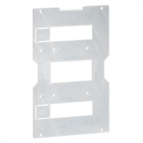 Mounting plate XL³ 4000 - for device only in vertical position