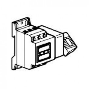 Isolating switch Vistop - 32 A - 2P - side handle, black - 3.5 modules