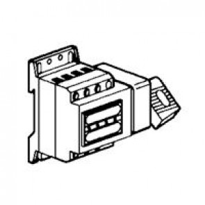 Isolating switch Vistop - 32 A - 4P - side handle, black - 4.5 modules