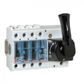 Isolating switch Vistop - 63 A - 3P - front handle, black - 7 modules