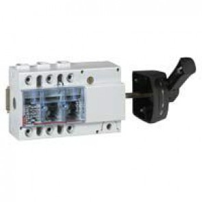 Isolating switch Vistop - 125 A - 3P - side handle, black - 7.5 modules
