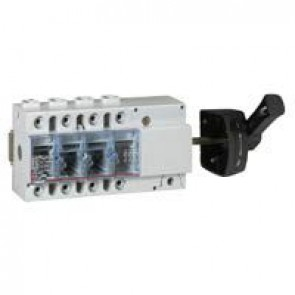 Isolating switch Vistop - 125 A - 4P - side handle, black - 9 modules