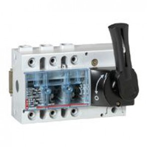 Isolating switch Vistop - 125 A - 3P - front handle, black - 7. 5 modules