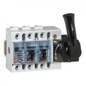 Isolating switch Vistop - 160 A - 3P - front handle, black - 7.5 modules