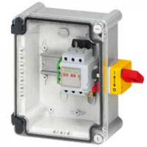 Full load switch unit with Vistop - 32 A - 4P - IK07