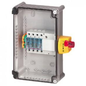 Full load switch unit with Vistop - 63 A - 3P