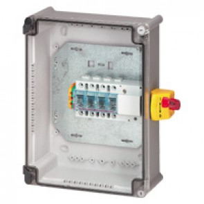 Full load switch unit with Vistop - 125 A - 3P