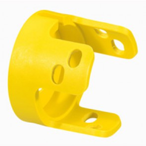 Osmoz standard padlockable guard - for mushroom head - yellow