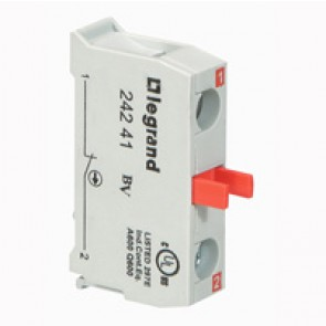 Osmoz electrical block - for control station non illuminated - NC