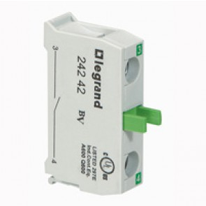 Osmoz electrical block - for control station non illuminated - NO