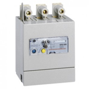 Electronic earth leakage modules - DPX/DPX-I 630 - mounted underneath - 3P - 400 A