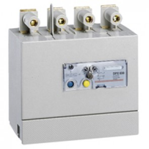 Electronic earth leakage modules - DPX/DPX-I 630 - mounted underneath - 4P - 630 A