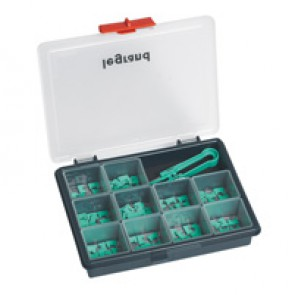 BUS plug-in jumpers kit - 0 to 9 marking (10 of each)