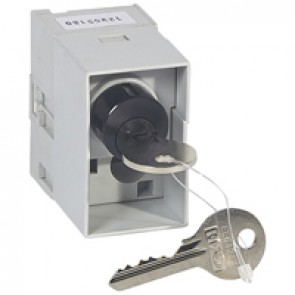 Key lock for Debro-lift mechanism -2 flat keys -motorised/with rotary hand. DPX³