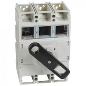 Isolating switch - DPX-IS 1600 with release - 3P - 800 A - front handle