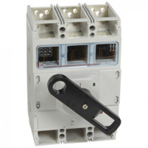 Isolating switch - DPX-IS 1600 with release - 3P - 1250 A - front handle