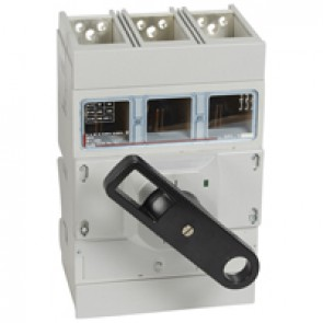 Isolating switch - DPX-IS 1600 with release - 3P - 1600 A - front handle