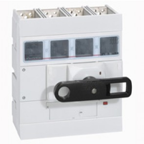 Isolating switch - DPX-IS 1600 with release - 4P - 800 A - front handle