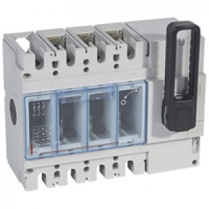 Isolating switch - DPX-IS 630 without release - 3P - 400 A - front handle