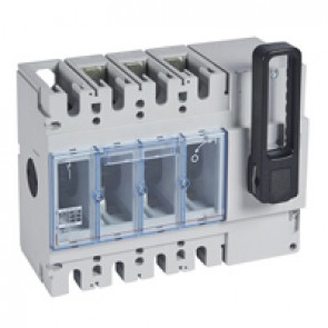 Isolating switch - DPX-IS 630 without release - 3P - 630 A - front handle