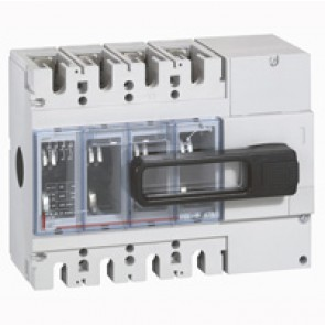 Isolating switch - DPX-IS 630 without release - 4P - 630 A - front handle