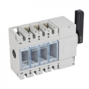 Isolating switch - DPX-IS 630 without release - 3P - 400 A - right-hand side handle