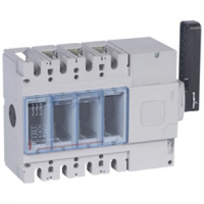 Isolating switch - DPX-IS 630 without release - 3P - 630 A - right-hand side handle