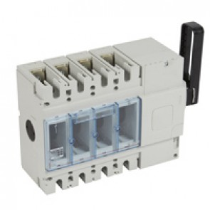 Isolating switch - DPX-IS 630 without release - 4P - 400 A - right-hand side handle