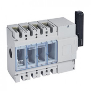 Isolating switch - DPX-IS 630 without release - 4P - 630 A - right-hand side handle