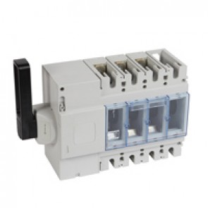 Isolating switch - DPX-IS 630 without release - 3P - 400 A - left-hand side handle