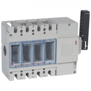 Isolating switch - DPX-IS 630 with release - 3P - 400 A - right-hand side handle
